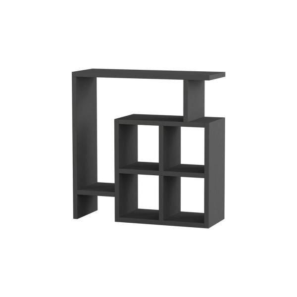 Ada Home Decor Smith Anthracite Modern Side Table