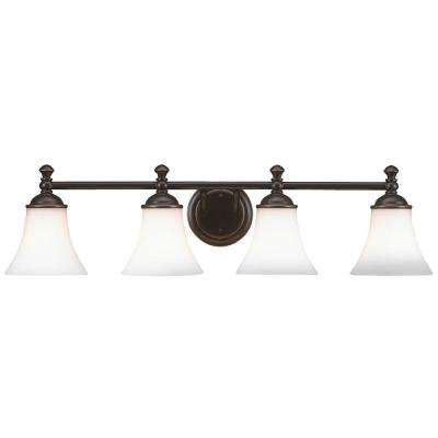 Crawley 4-Light Oil-Rubbed Bronze Vanity Light