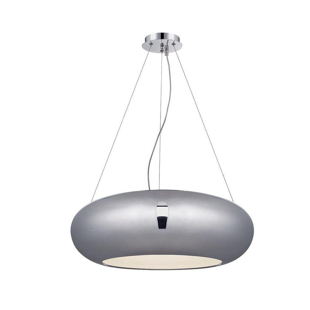 null Luna Collection 45-Light Chrome Large LED Pendant-DISCONTINUED