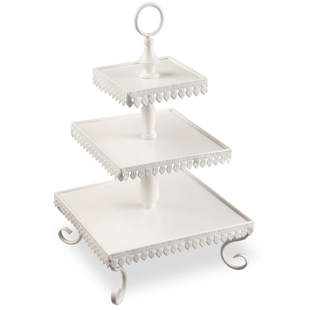 3-Tier Tin Table Piece