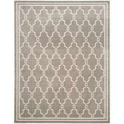 Amherst Dark Gray/Beige 8 Ft. X 10 Ft. Indoor/Outdoor Rectangle