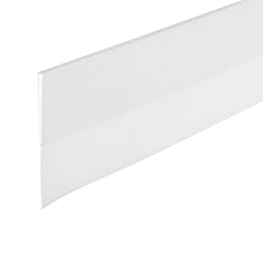 E/O 1-1/2 in. x 36 in. White Self-Stick Door Sweep