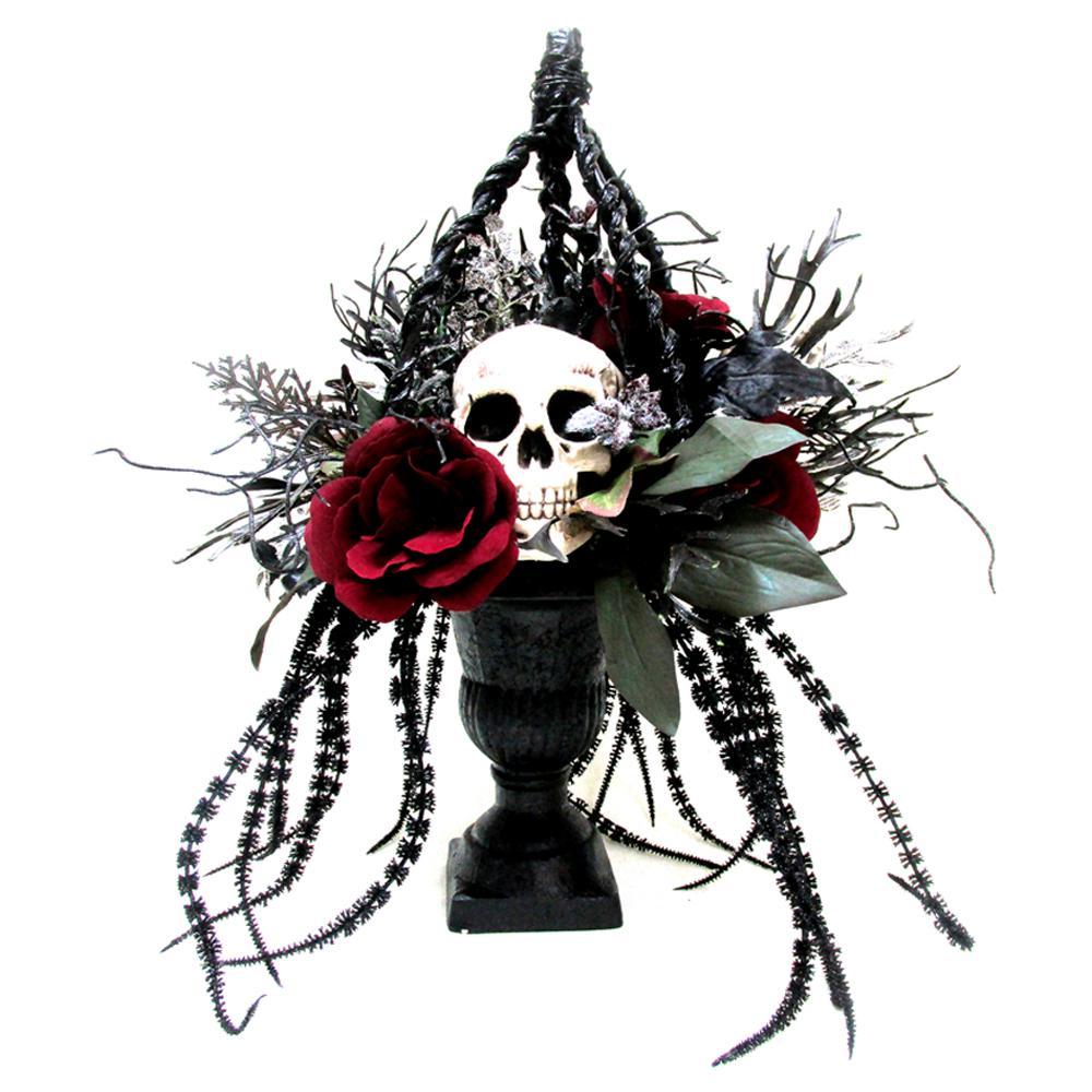 17 in. Flower Basket