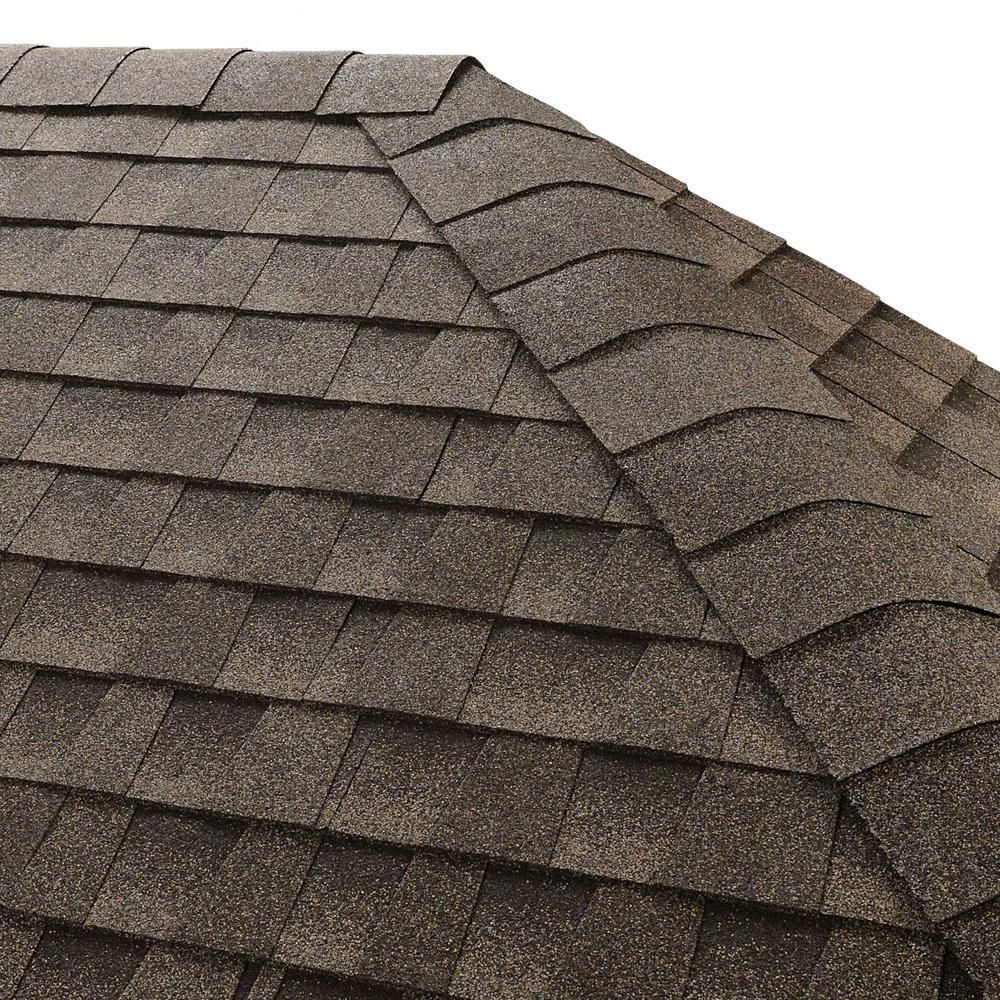 Seal A Ridge Mission Brown Hip And Ridge Shingles (25 Linear Ft.