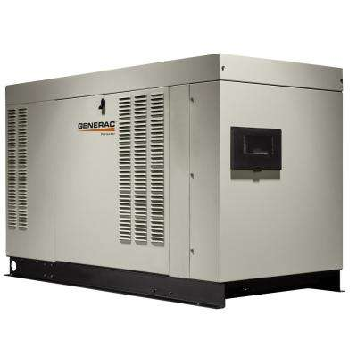 48,000-Watt 120-Volt/240-Volt Liquid Cooled Stand by Single Phase Generator with Aluminum Enclosure