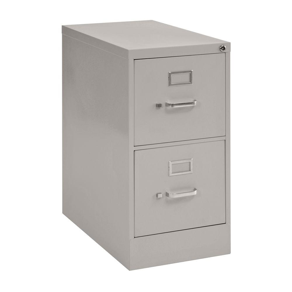 Sandusky 2-Drawer Vertical File Cabinet in Dove Gray-DISCONTINUED