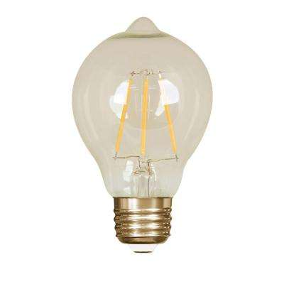60W Equivalent Soft White (2200K) AT19 Dimmable LED Vintage Style Light Bulb