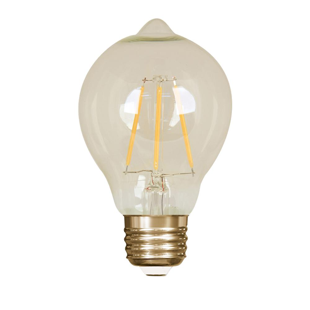 feit electric 60w equivalent soft white 2200k at19 dimmable led vintage style light bulb case. Black Bedroom Furniture Sets. Home Design Ideas