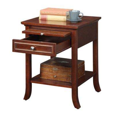 American Heritage Logan Mahogany End Table