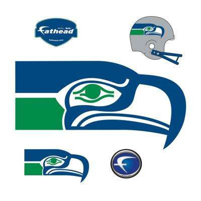 Seattle Seahawks Classic Logo Giant Officially Licensed NFL Removable Wall Decal