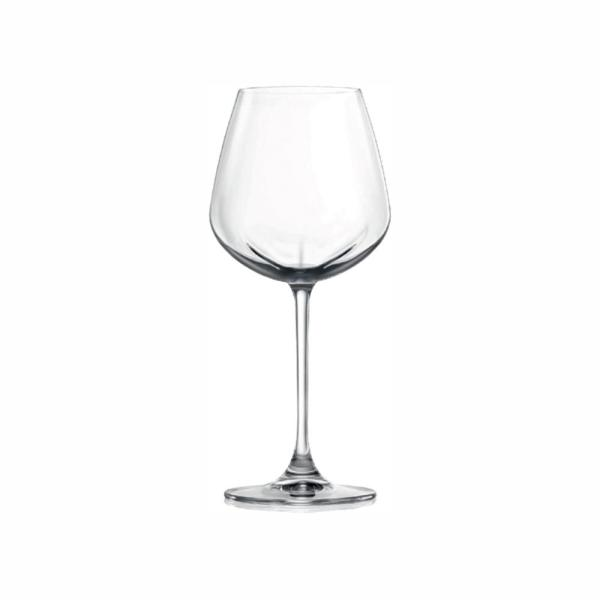 Lucaris Desire Aerlumer Rich 8-Pieces White 16.5 oz. Wine Glass Packed