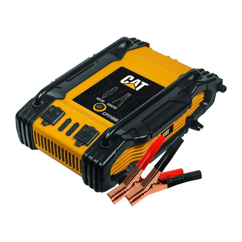 Cat 1000 Watt Power Inverter Cpi1000 The Home Depot 12vdc To 120vac Schematic Get Free Image About Wiring