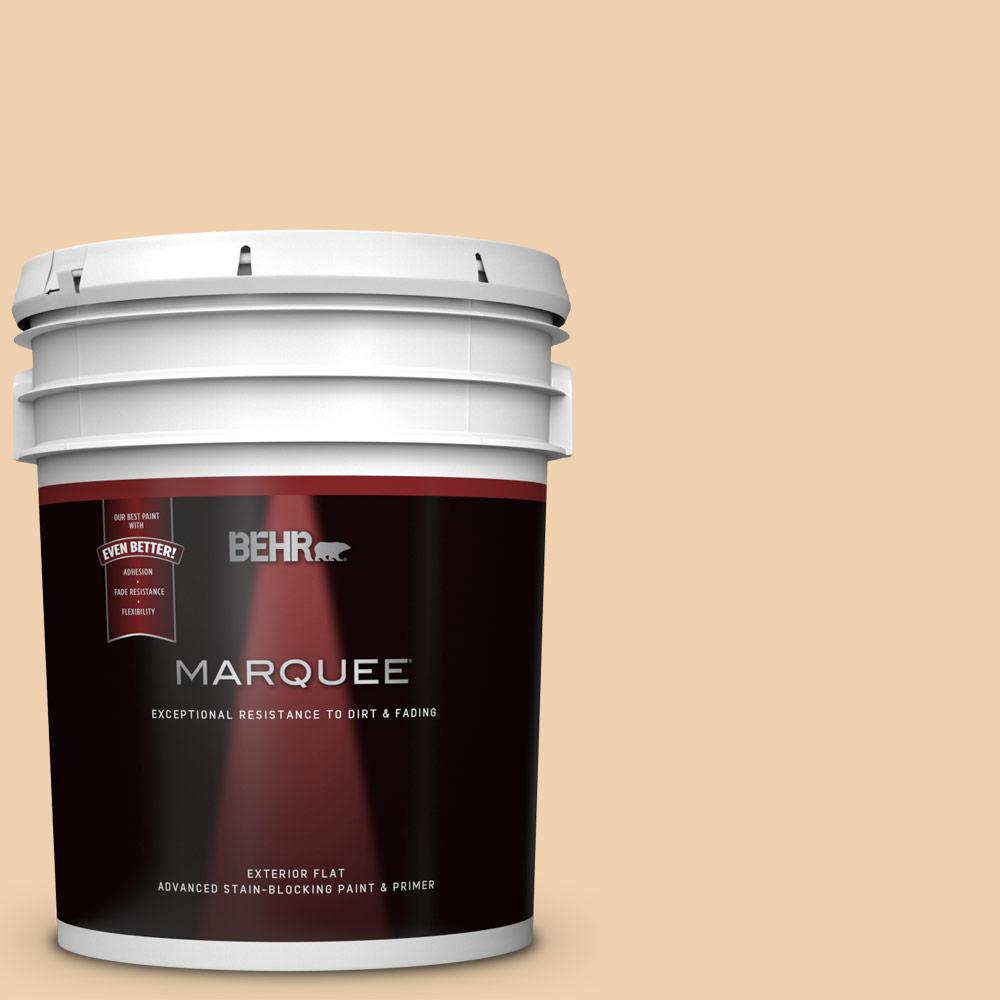 Behr Marquee 5 Gal 300e 2 Calm Air Flat Exterior Paint And Primer In One 445005 The Home Depot