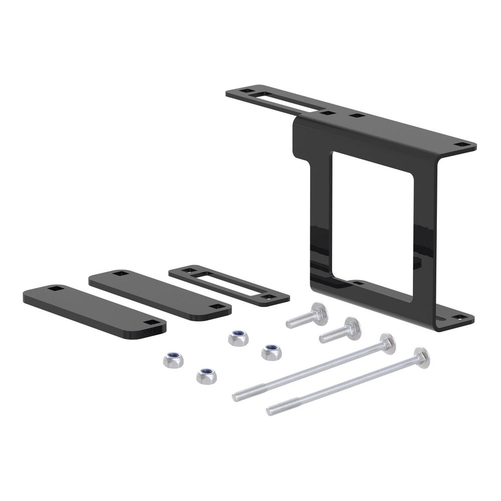 CURT Easy-Mount Bracket for 4 or 5-Way Flat (2