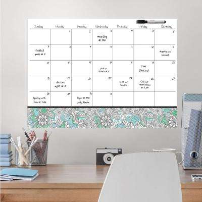 White Punjab Coloring Calendar Decal
