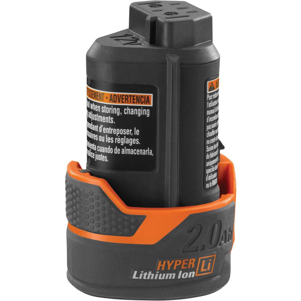 RIDGID 12-Volt HYPER Lithium-Ion Battery Pack 2.0Ah