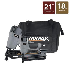 NuMax 21 Degree Framing and Brad Nailer kit with Canvas Bag by NuMax