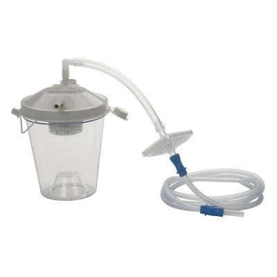 Universal Suction Machine Tubing and Filter Replacement Kit with Canister