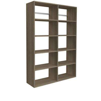 72 in. H x 50 in. W Coastal Haven Garage Shelf Storage Kit
