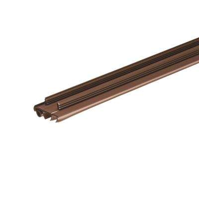E/O 1-3/4 in. x 36 in. Brown PVC Door Bottom Replacement for Stanley Steel Doors