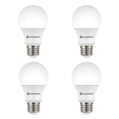 60 Watt Equivalent A19 Energy Star And Dimmable LED Light Bulb In Soft  White (