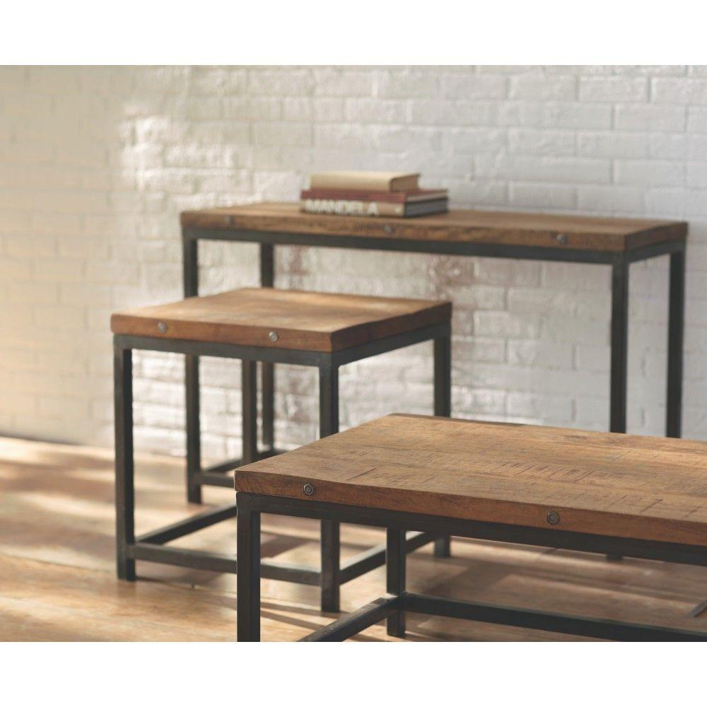 Home Decorators Collection Holbrook Natural End Table