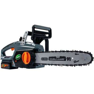 12 in. 24-Volt Electric Cordless Chainsaw
