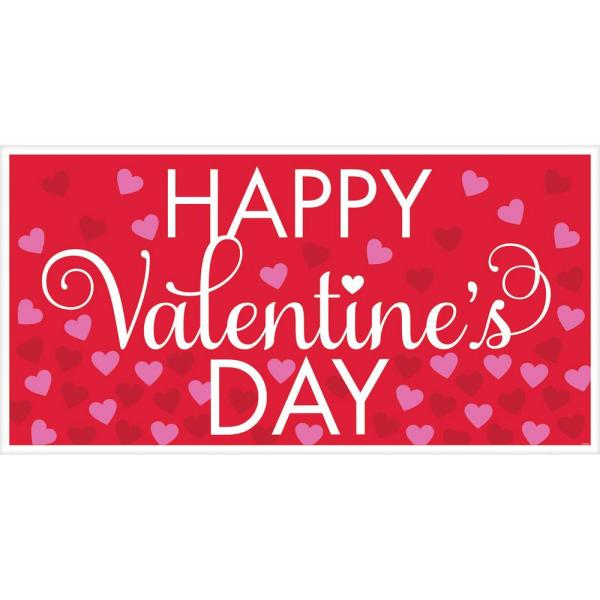 33.5 in. Valentine's Day Large Horizontal Banner (5-Pack)