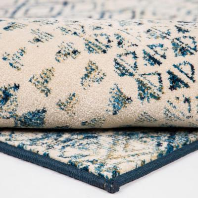 Geometric Orian Rugs Blue Area Rugs Rugs The Home Depot