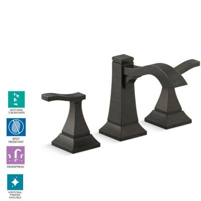 Truss 8 in. Widespread 2-Handle Bathroom Faucet in Oil-Rubbed Bronze