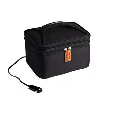 Black Food Warming Lunch Bag Plus 12-Volt