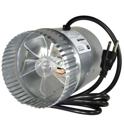 5 in. Corded In-Line Duct Fan