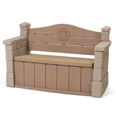 Outdoor Storage Patio Bench