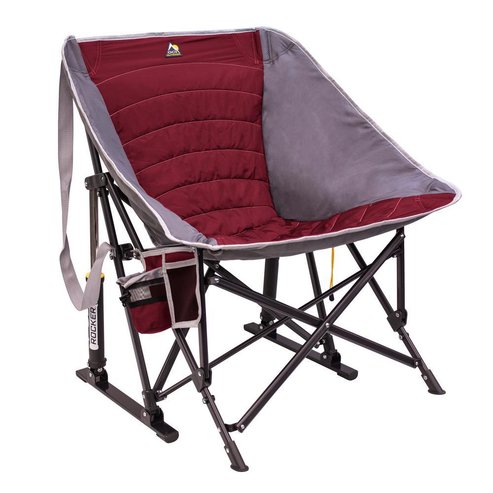 MaxRelax Pod Rocker Metal Outdoor Rocking Chair
