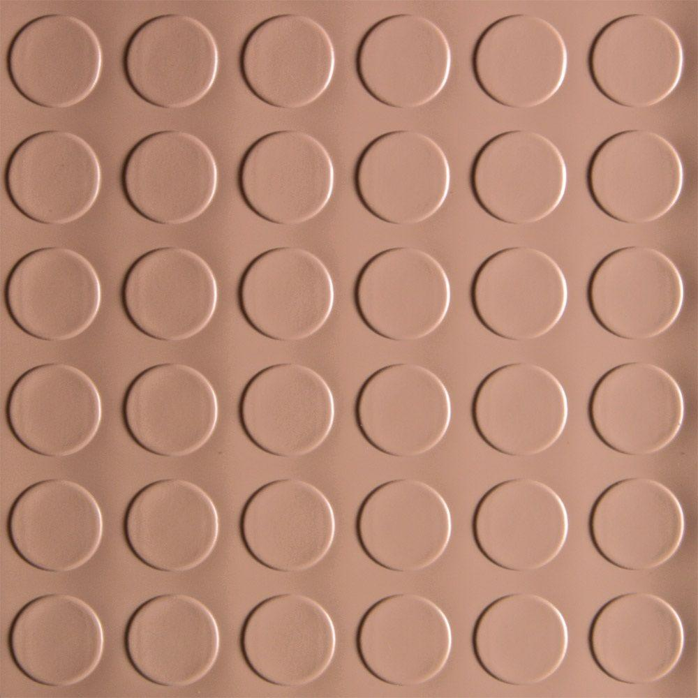 7.5 ft. x 17 ft. Coin Commercial Grade Sandstone Garage Floor