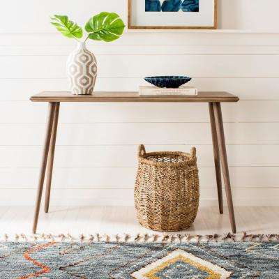 Marshal Milk Chocolate Console Table