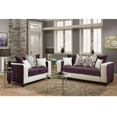 Purple - Living Room Furniture - Furniture - The Home Depot