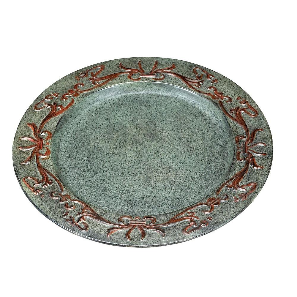 Old Dutch 13 in. Art Nouveau Charger Plates (Set of 6)