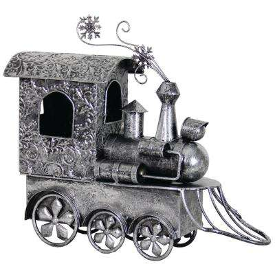 26.5 in. Garden Holiday Decor Train