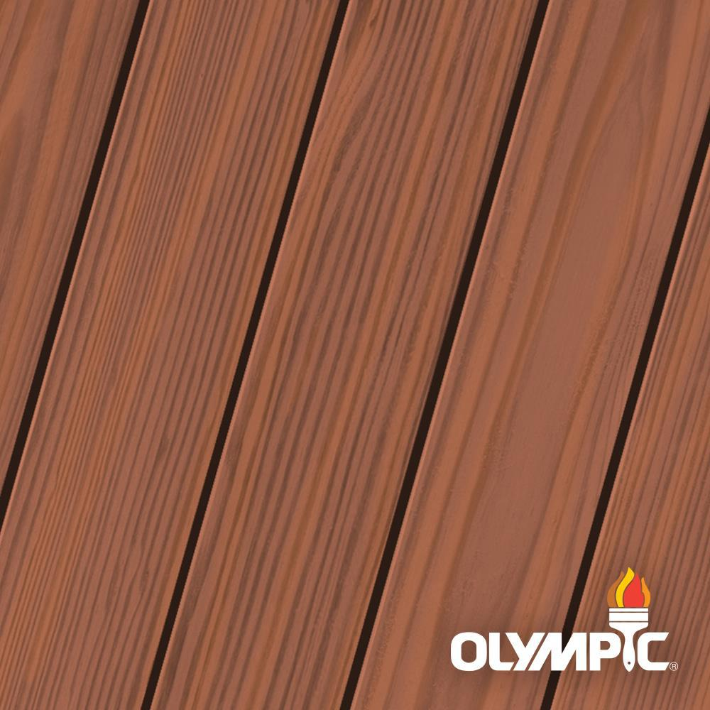 Brick Red Semi Transpa Exterior Stain And Sealant In One