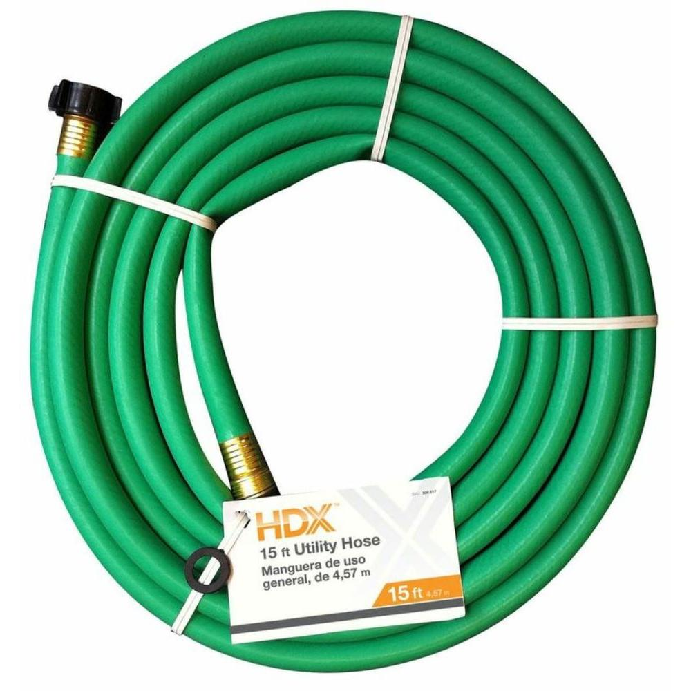 easy flexible garden hose home depot. Remnant Garden Hose HDX58015FM  The Home Depot HDX 5 8 in Dia x 15 ft