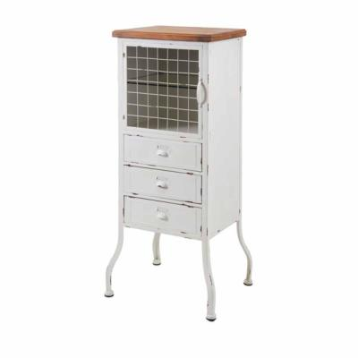 Zane 3-Drawer Metal Cabinet