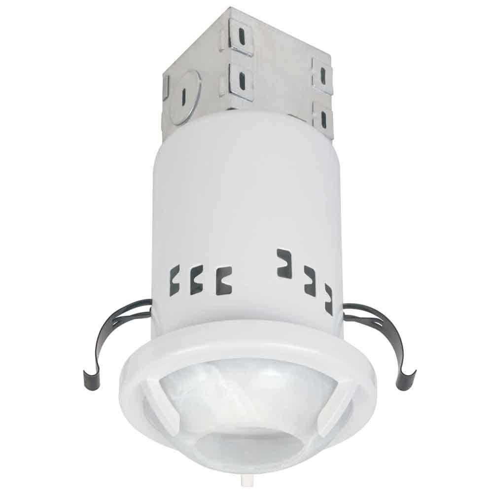 commercial electric 3 in white recessed non ic remodel gu10