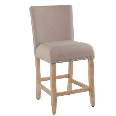 Open Backless  24 in. Persimmon Lattice Bar Stool