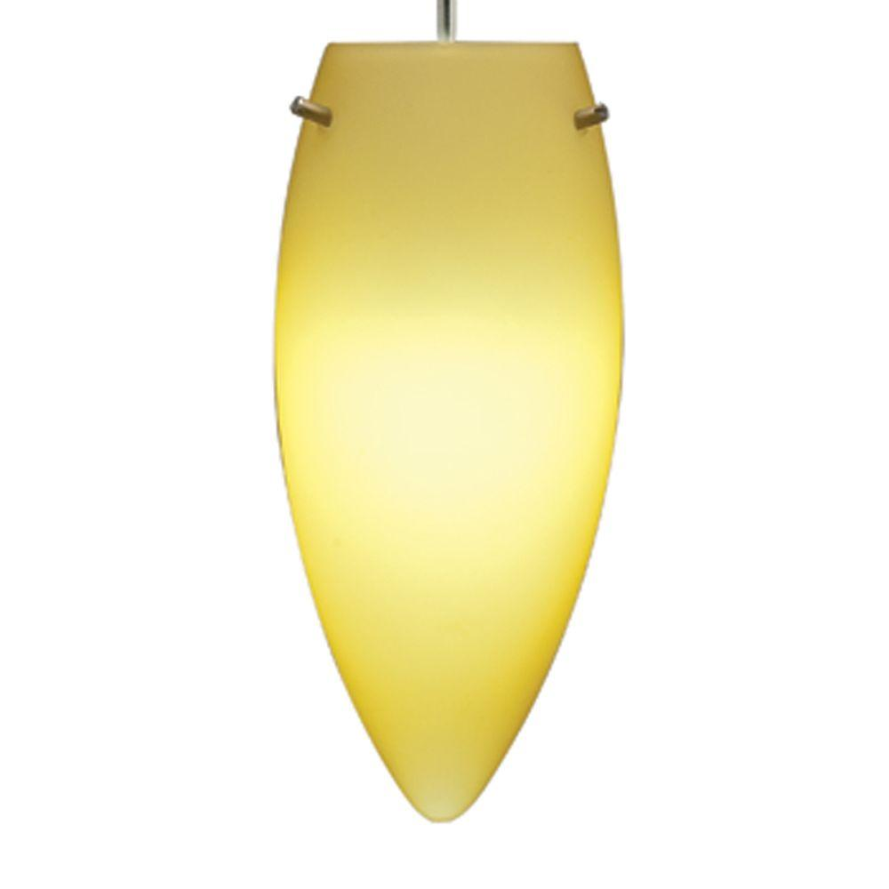 Juno 1-Light Maize LED Flame Pendant Kit