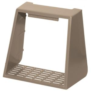 Builders Edge 4 inch Hooded Vent Small Animal Guard #023-Wicker by Builders Edge