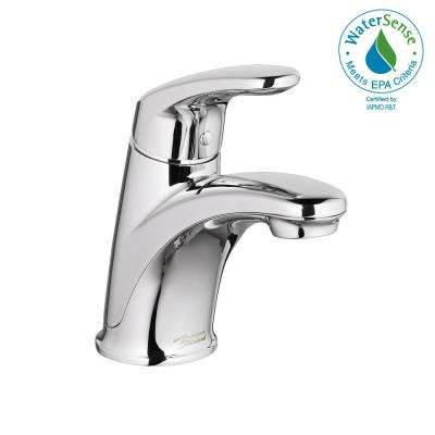 Colony Pro Single Hole Single-Handle Bathroom Faucet with 50/50 Pop-Up Drain in Polished Chrome