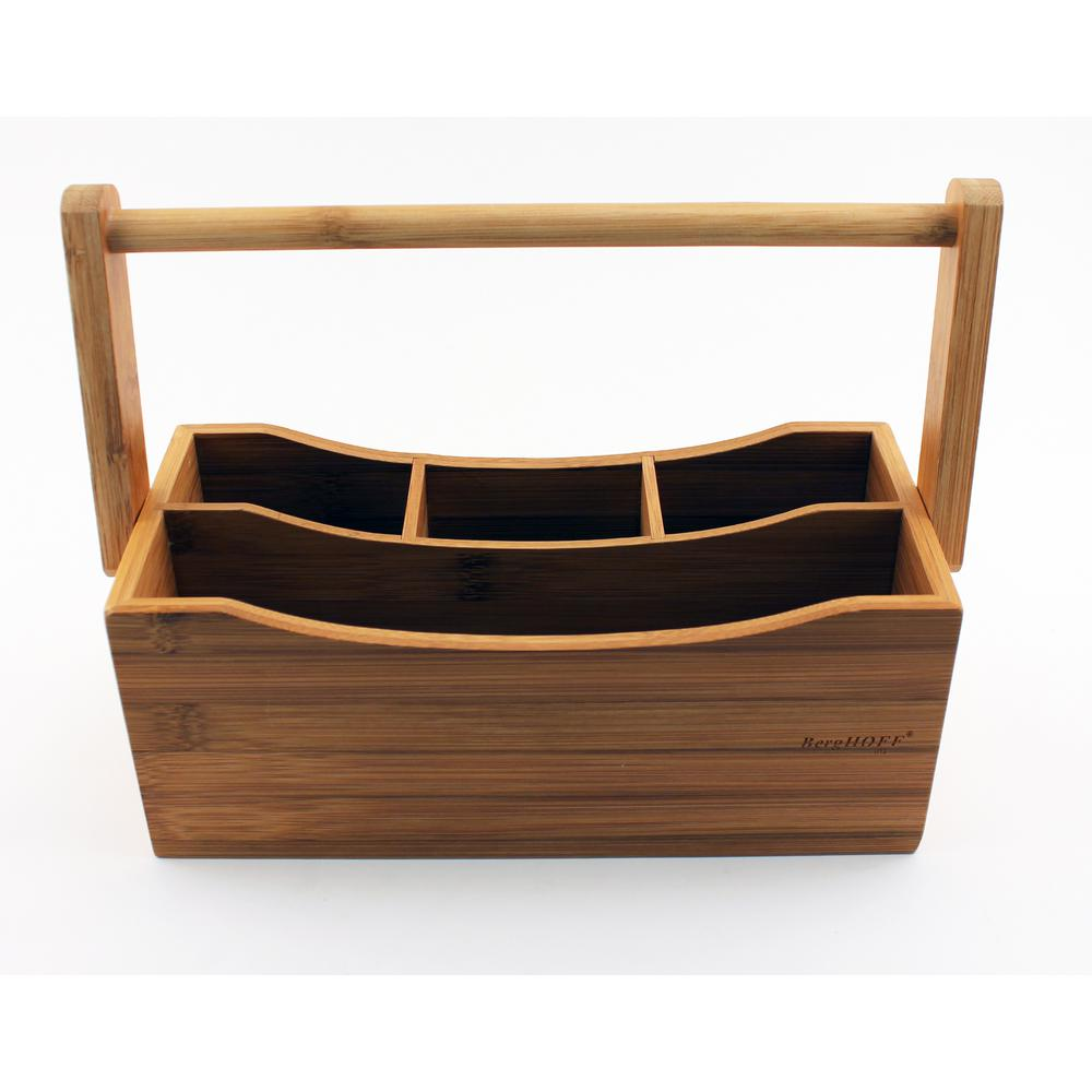 Bamboo 9.75 in. Flatware Caddy