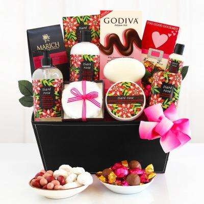 Tiar Rose Spa Gift Basket