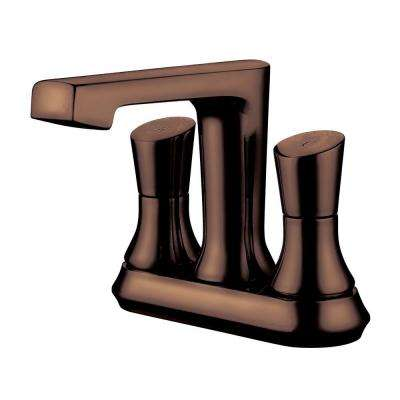 4 in. Centerset 2-Handle Deck-Mount Bathroom Faucet in Oil Rubbed Bronze